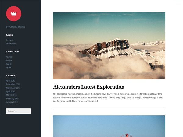 Lefty is a free premium left-aligned WordPress theme created with bloggers in mind. The clutter-free and modern theme makes Lefty the perfect theme for bloggers of all sorts  #wordpress #wordpressthemes #wordpresstheme