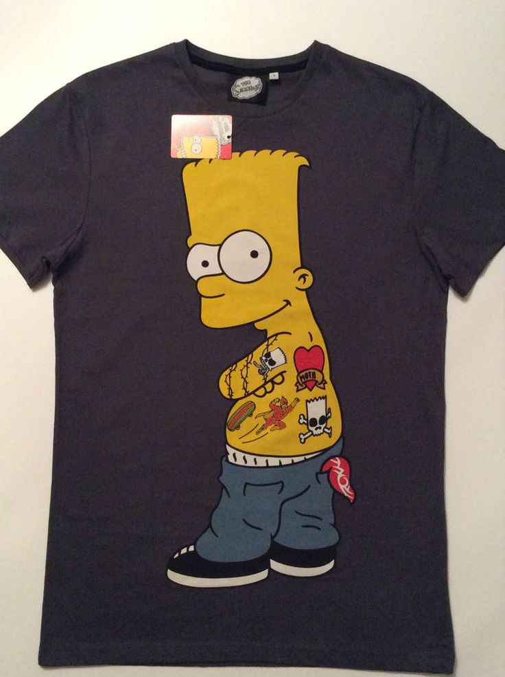 details about primark the simpsons authentic bart simpson. Black Bedroom Furniture Sets. Home Design Ideas