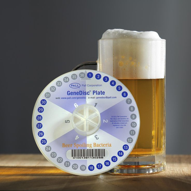 New Pall GeneDisc® System For Rapid Microbiological Monitoring Solution In Beer Production