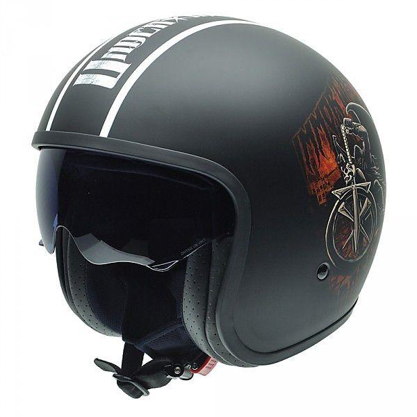 Casco Rolling - WWE W Undertaker Flat  NZI helmets