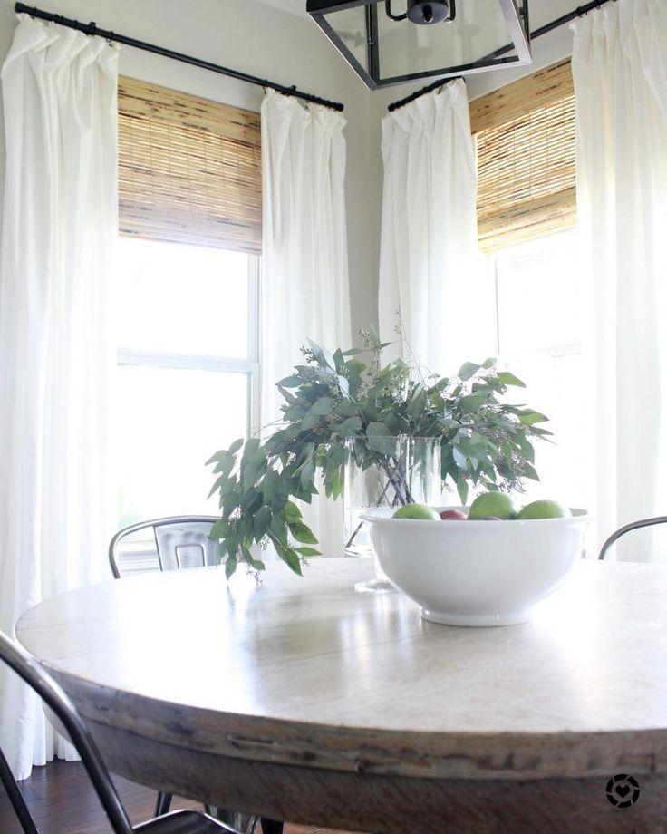 Woven Wood Shades in Antigua Natural.  #Regram via @crazywonderfulblog