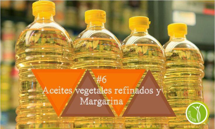 Nutricion Estetica: #6 ACEITES VEGETALES REFINADOS Y MARGARINA. 8 ALIM...