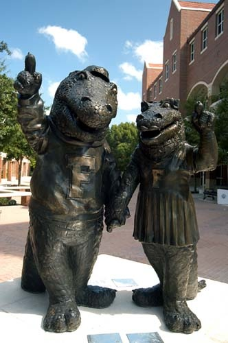 Albert and Alberta. Go Gators!!
