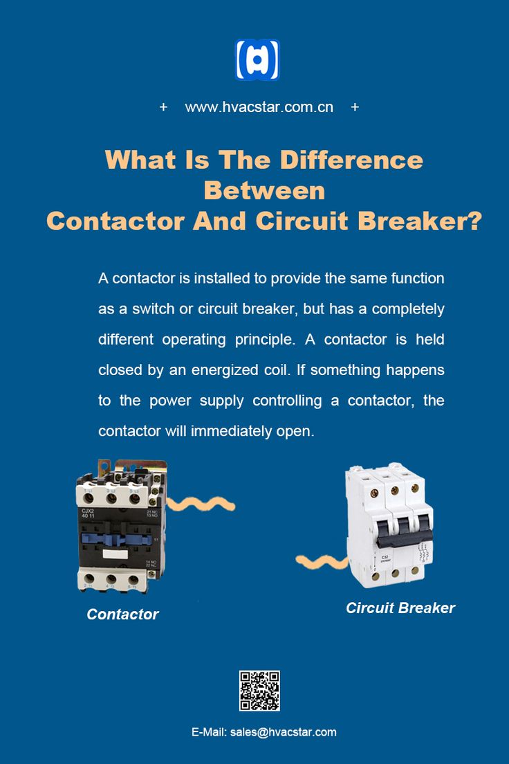 What Is The Difference Between Contactor And Circuit