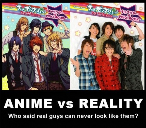 UtaPri ♥ ♥ WTF KIND OF RIP OFF IS THIS!?! THOSE GUYS R NOT ANYWHERE's near as hot :_( What a total lie!! Not even close what was this person smoking??