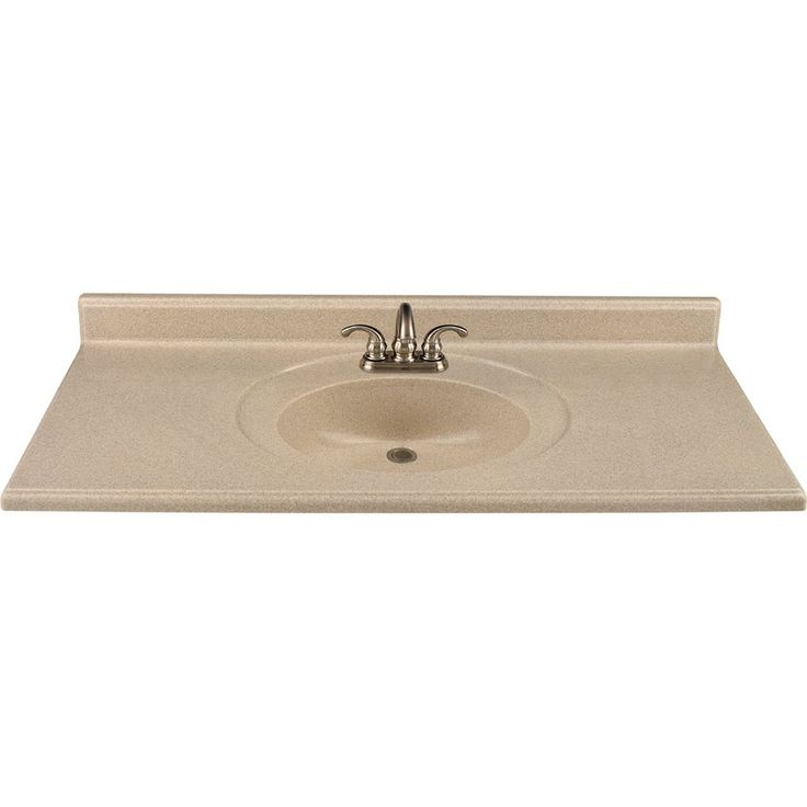 Style Selections Wheat Vanity Top