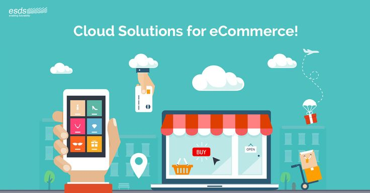 A Peek into #Cloud based Solutions for your #eCommerce #Website!  Cloud-based eCommerce solutions are essential for the sustainable growth and development of eCommerce companies due to bundle of advantages. Check out here!