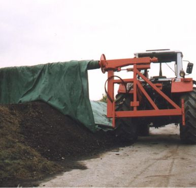Compost Windrow cover roller Price : AU$15,950.00 (inc GST) AU$14,500.00 (exc GST)