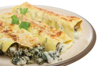 Stuffed Cannelloni (With how to on making your own crepes for this) Awesome!!