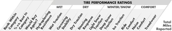 Car Tire Survey Results