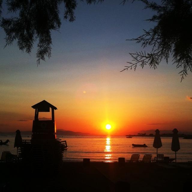 Sunset @Glyfada-Greece