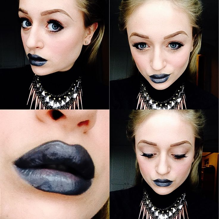 Today's look! Found a new love with these space cake lips by melt cosmetics, with a MAC lipgloss to add the sheen, and simple beige pigment eyes by MAC with a dark brown cream liner by Inglot and Katy Perry range lashes to finish the look! - a perfect look for an everyday if you are feeling bold! - created by Evie Cox