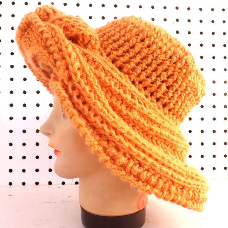 Crochet Pattern, Crochet Hat Pattern, Womens hat, FRONTIER ...