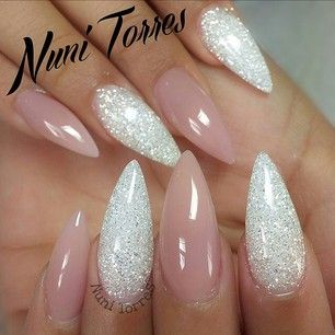 Glitter and nude