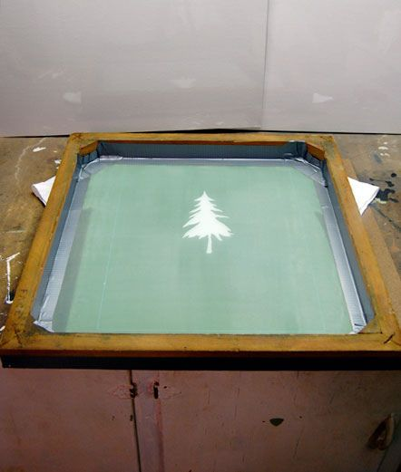 How to Screen Print! Silkscreening at Home.