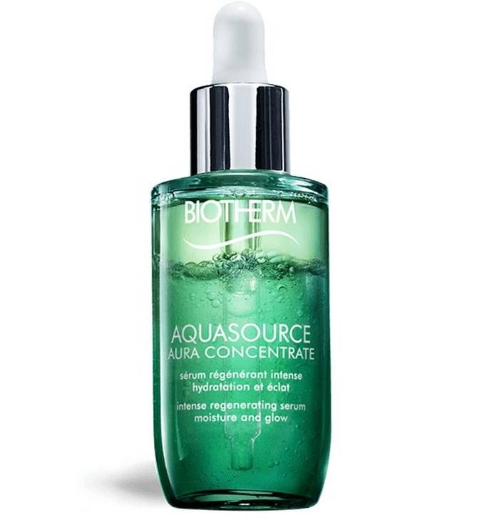 Aquasource Aura Concentrate Hydrating Serum Dry Skin Biotherm In 2020 Biotherm Biotherm Aquasource Serum For Dry Skin