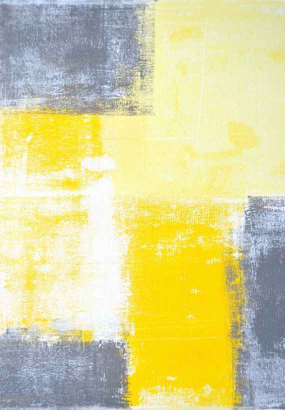 Grey and Yellow Abstract Art Painting ...BTW,Please see: http://artcaffeine.imobileappsys.com