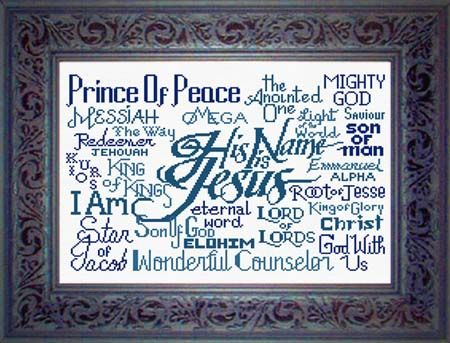 His Name is Jesus - Free Chart