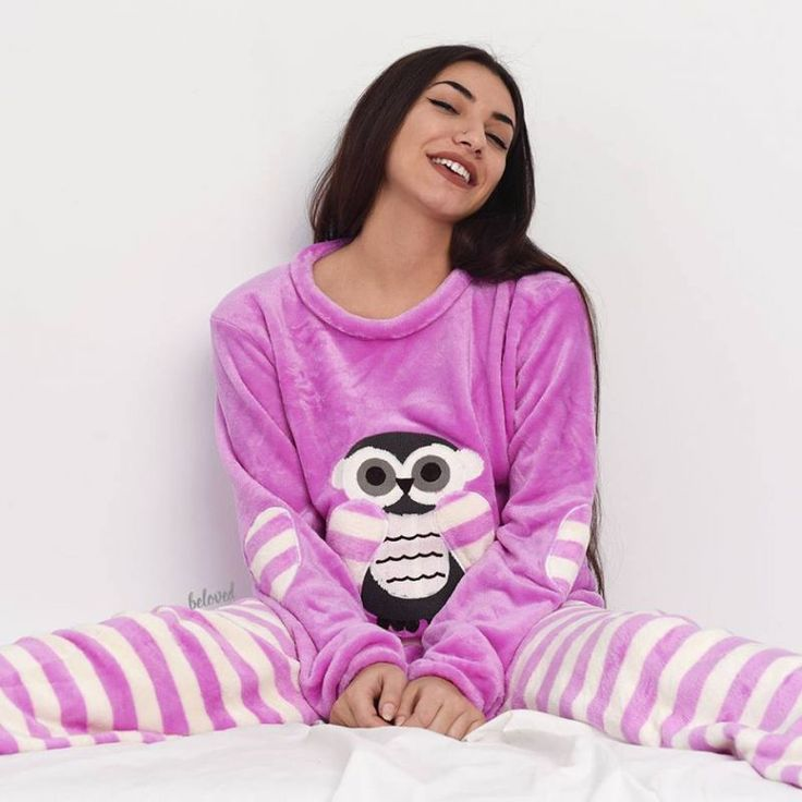 OWL PURPLE PAJAMA