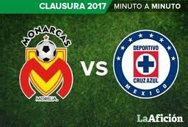 Cruz azul vs monarcas morelia sabado 8 de abril 2017