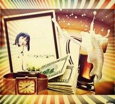 My photo with tea, belt, in my via http://funnywow.com & http://photomania.com