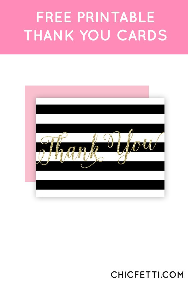 1000 images about Free Printable Thank You Cards – Free Printable Wedding Thank You Cards