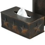 Lone Star Metal Tissue Box