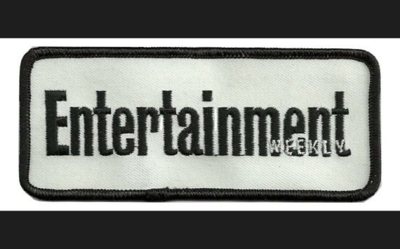 Entertainment Weekly Patch  Entertainment Magazine SEW on