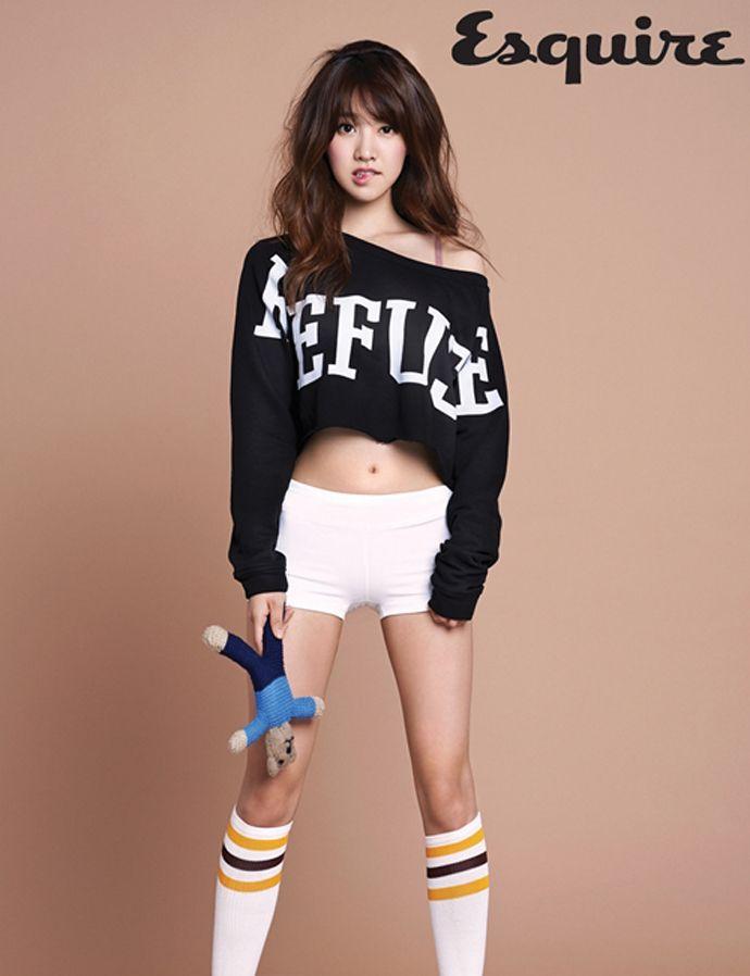 eyecandieskpop: Jin Se Yeon for Esquire via: http://yellowmenace.tumblr.com