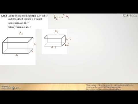 Matematik 5000 Ma 2b   Kapitel 3   Area  och volymskala   3252