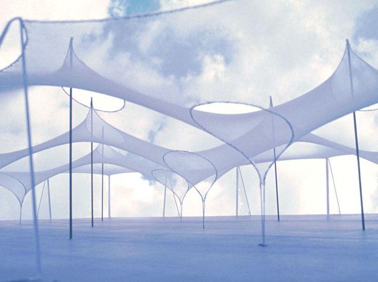 L'architecte allemand Frei Otto est mortà l'âge de 89 ans. Il devient le premier lauréat posthume du prestigieux prix Pritzker. Voici un avant-goût en image de ses constructions les plus étonnantes.