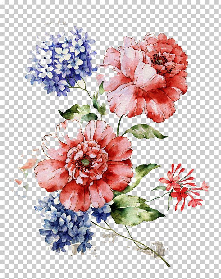 poprawiony_Kwiecisty kwiatu projekt, piękny rocznika kwiecisty wzór, ilustracj…