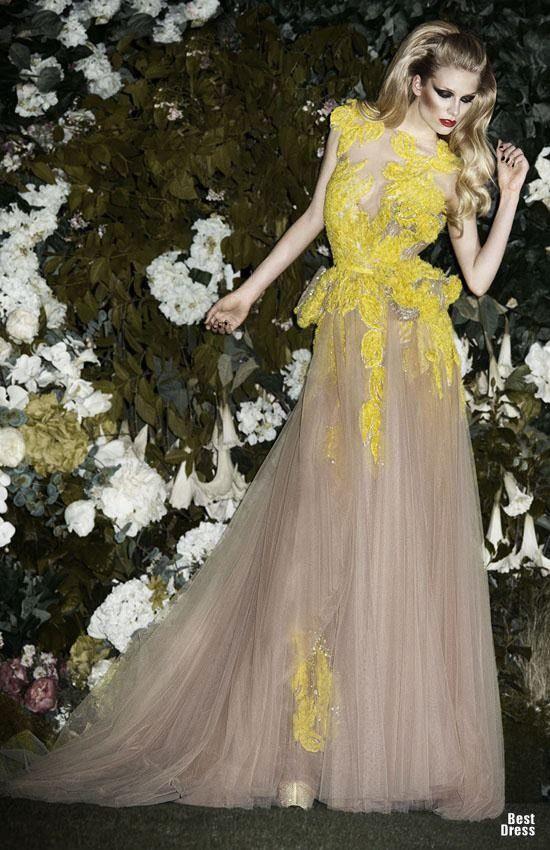 17 Fabulous Dresses by Shady Zeineldine 2013