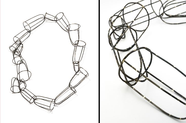 Lynn Batchelder  - Reconstructions (Chain) - 2013 steel
