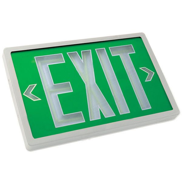 LED Exit Sign 120/277  sc 1 st  Pinterest & 9 best Emergency Lighting images on Pinterest | Emergency lighting ... azcodes.com
