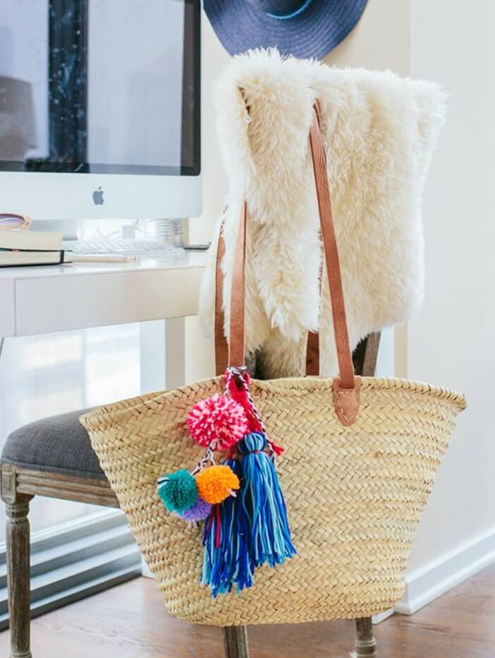 A little pom pom can go a long way! Check out some of my favourites on the blog ...