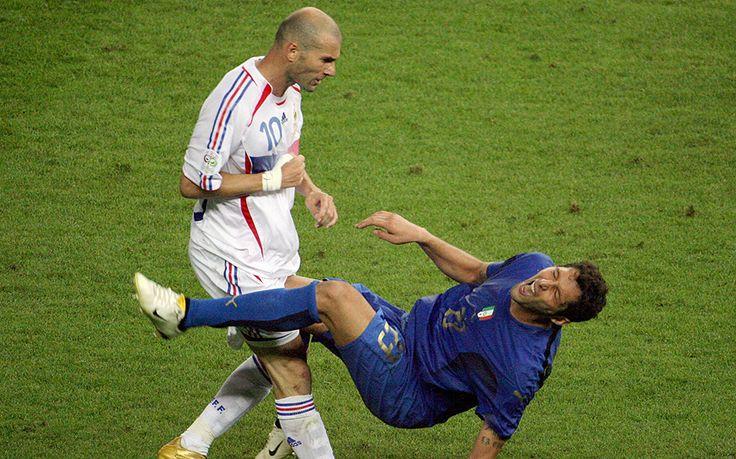Zinedine Zidane's headbutt on Marco Materazzi totally dominated the 2006 World Cup final.