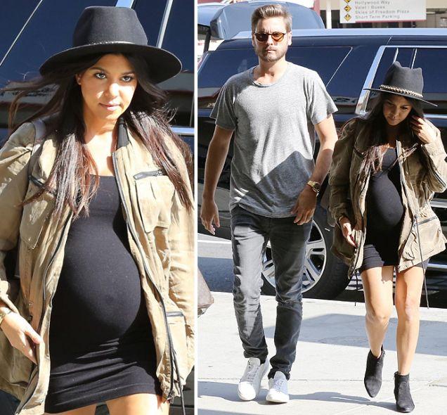 Sounds like Kourtney Kardashian & Babydaddy Scott Disick Headed for a Split?