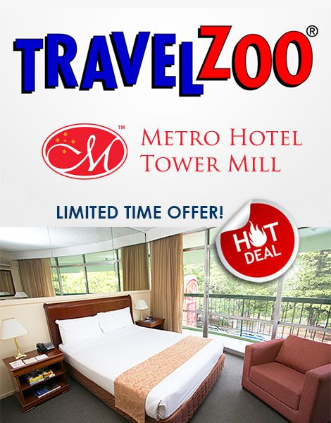 Great value TRAVEL ZOO deal at Metro Hotel Tower Mill - ends 23 Dec! Rates start at just $89 per night! http://www.travelzoo.com/au/hotels/australia/city-hotels/-89-99-central-brisbane-stay-w-free-parking-save-38--2158697/