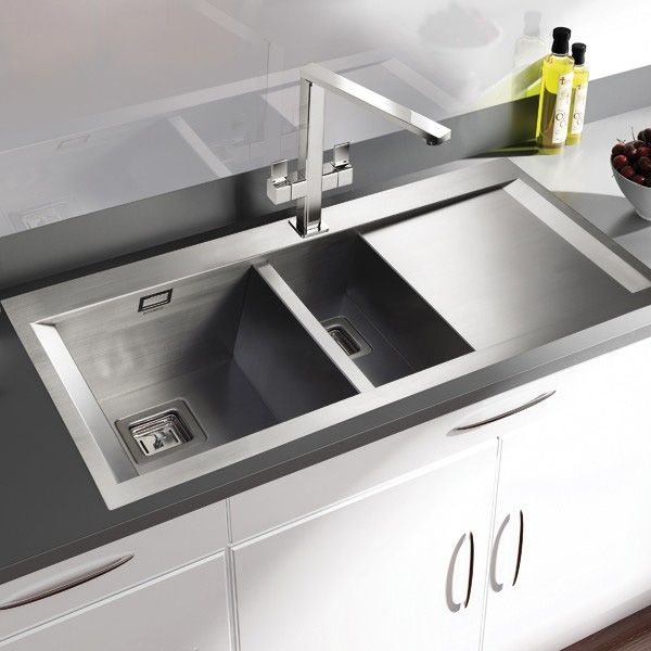 rangemaster senator 1 5 bowl stainless steel kitchen sink  http   www sinks 12 best rangemaster sinks  u0026 taps images on pinterest   stainless      rh   pinterest co uk