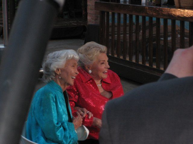 Esther Williams and Betty Garrett -- friends throughout their lives.
