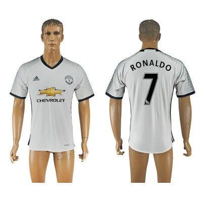 Manchester United 16-17 Ronaldo 7 TRødje Trøje Kortærmet.  http://www.fodboldsports.com/manchester-united-16-17-ronaldo-7-trodje-troje-kortermet.  #fodboldtrøjer