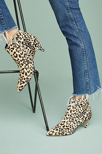 d363a8f7a684 Sam Edelman Leopard Kinzey Booties.  BOOTS  AnkleBoots  Ad  Style  Fashion
