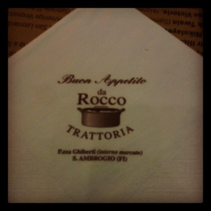 Trattoria Da Rocco – Firenze