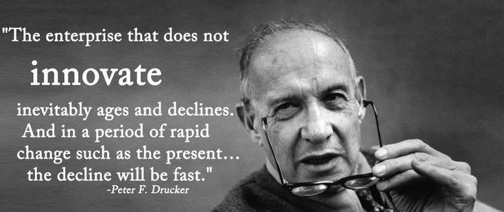 Peter Drucker Quotes Innovation Quotesgram border=
