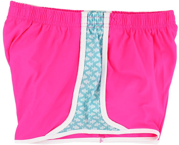Prep Schools Shorts in Neon Pink by Krass & Co.