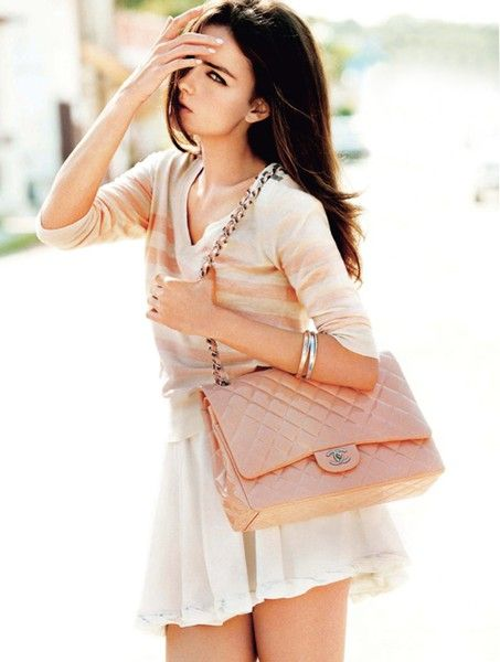 Love everything about this look!!!!: Fashion, Chanel Bags, Style, Purse, Designer Handbags, Outfit, Pink Chanel, Blush