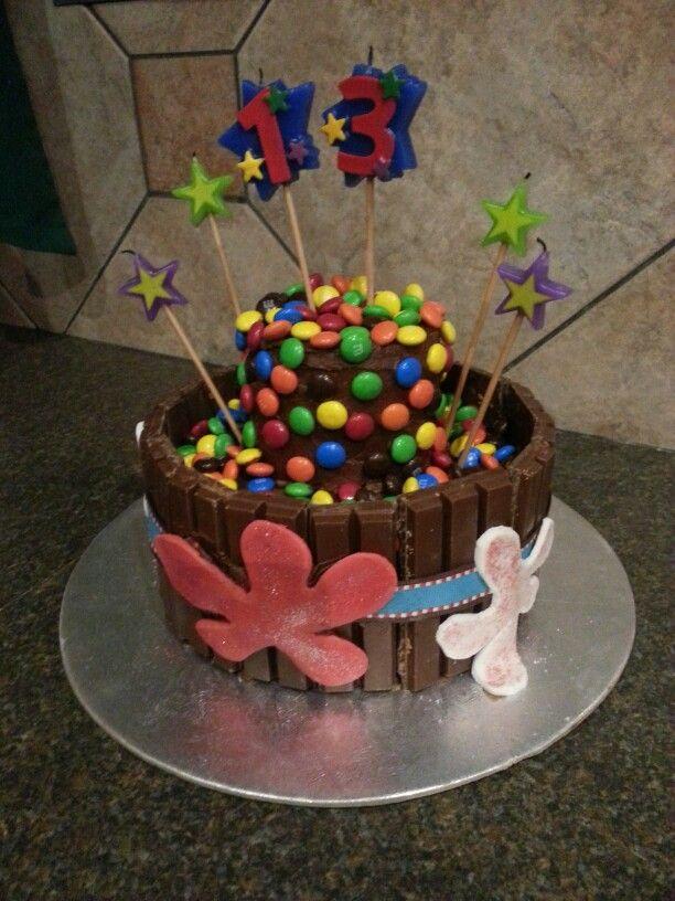 Paintball cake!