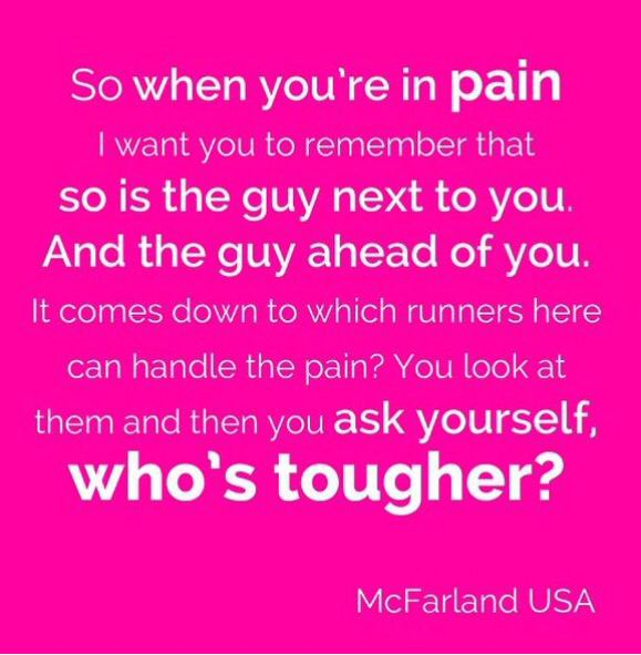 Who's tougher? This has to be my favorite quote.