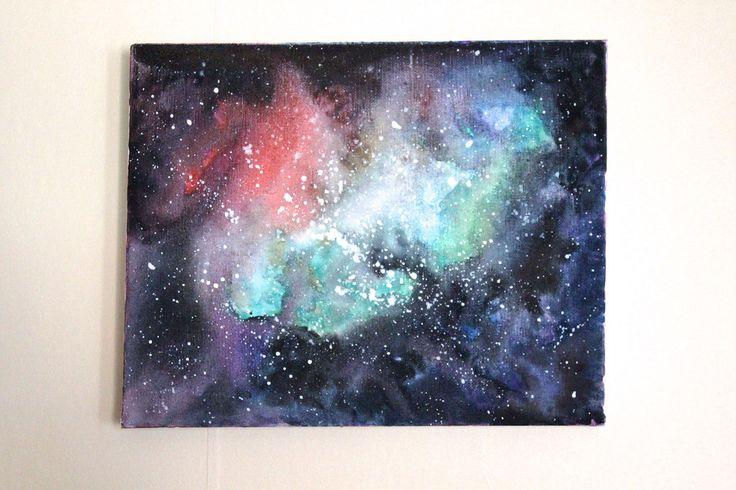 Akvarellgalax av Wilda på Reaktionista